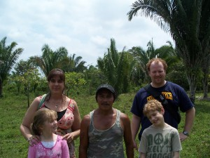 Family with Bush Doctor